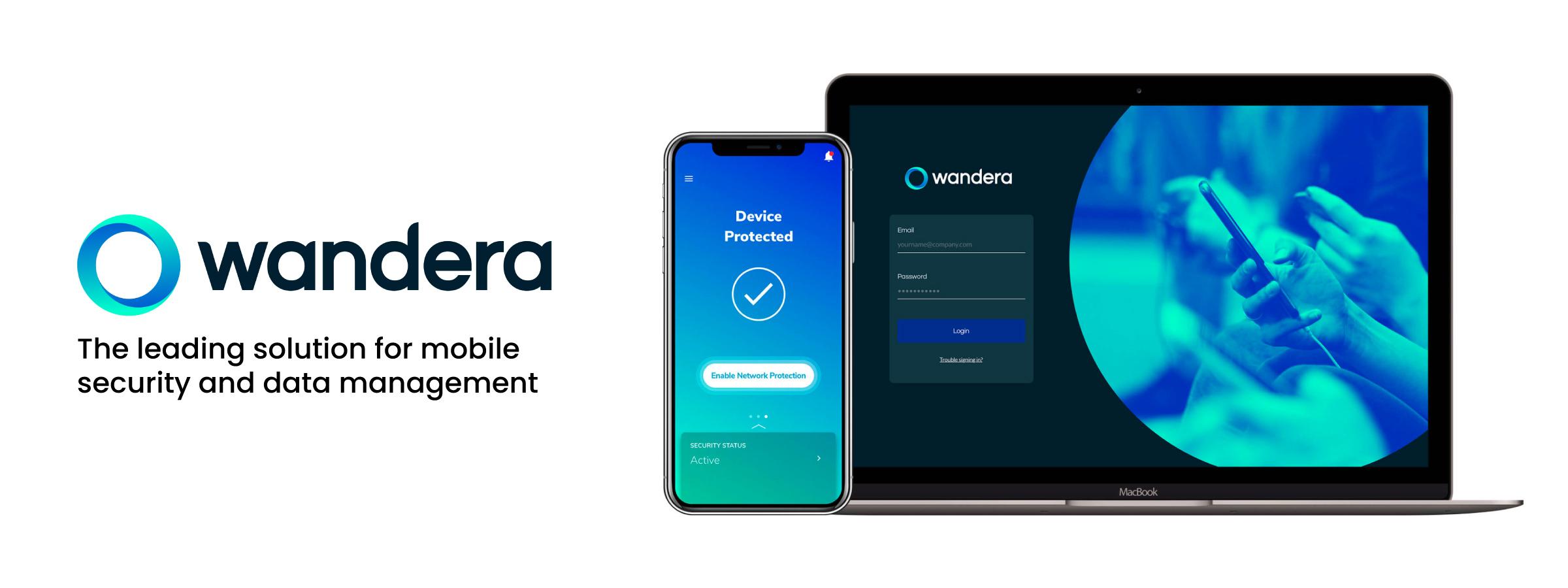 Wandera Mobile Security Header